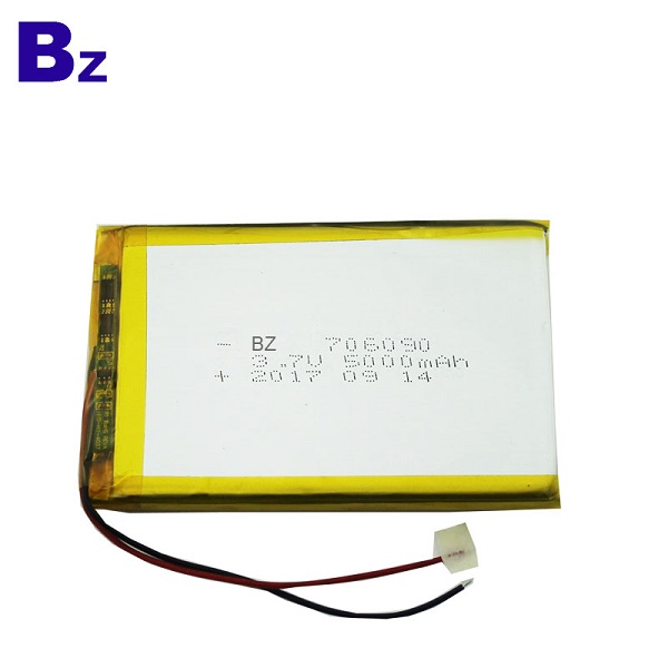 3.7V Rechargeable Li-Polymer Battery