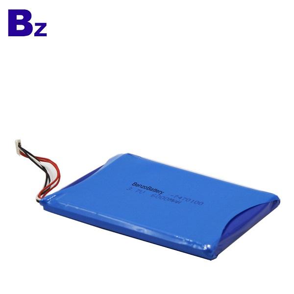 6000mah 3.7V Lipo Battery