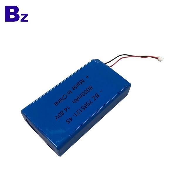 7565121-4S 14.8V 8000mAh Lipo Battery Pack