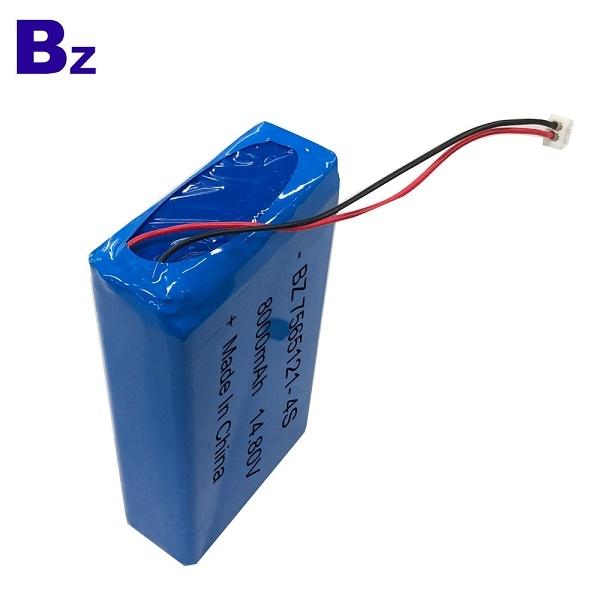 BZ 7565121-4S 14.8V 8000mAh Lipo Battery Pack