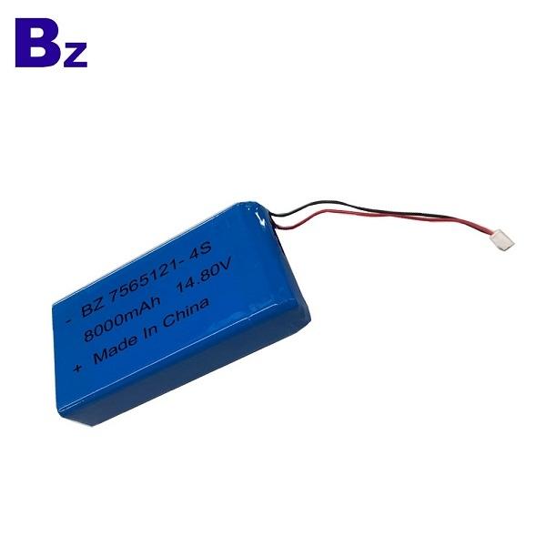 14.8V 8000mAh Lipo Battery Pack