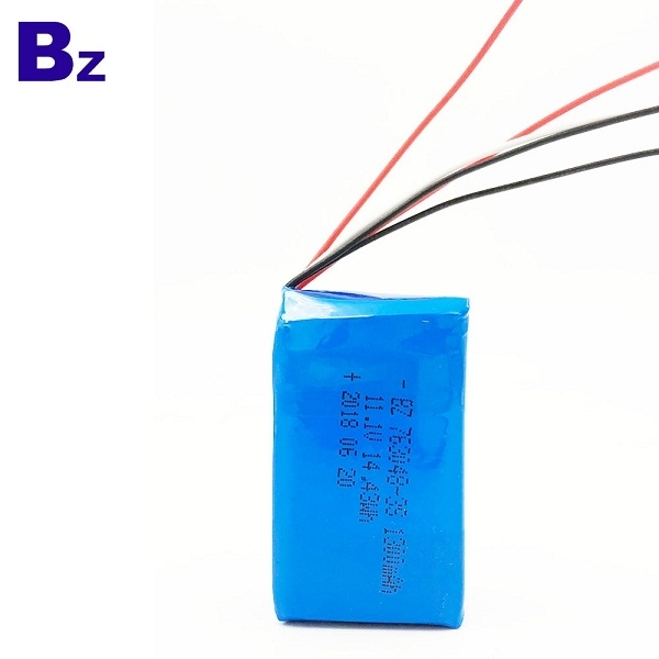 11.1V 1300mAh Li-ion Polymer Battery
