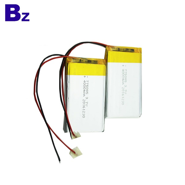 3.7V Rechargeable Polymer Li-Ion Battery