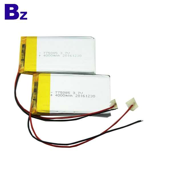 4000mah Rechargeable Polymer Li-Ion Battery