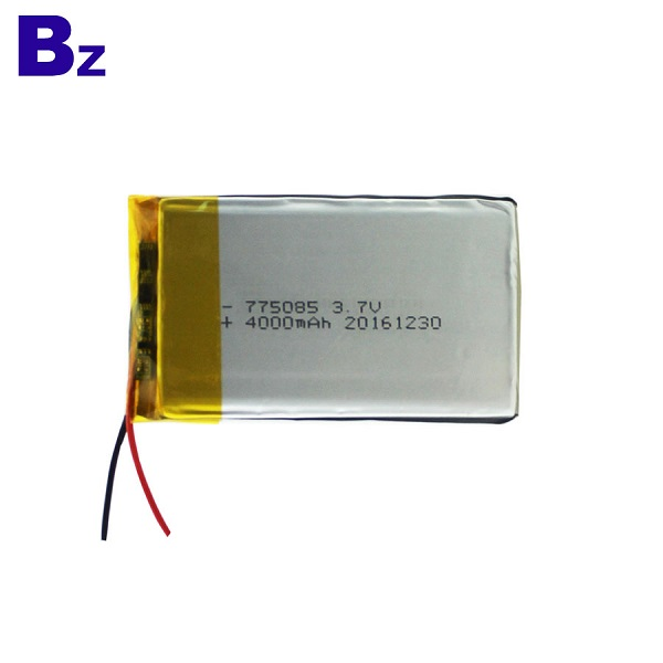 Rechargeable Polymer Li-Ion Battery