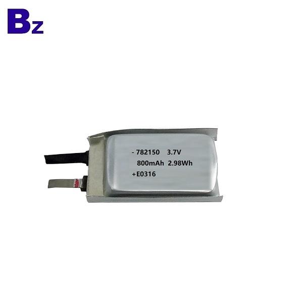 782150 800mAh 3.7V Rechargeable LiPo Battery