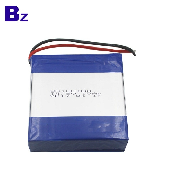 80100100-4S 14.8V 10AH Lipo Battery Pack