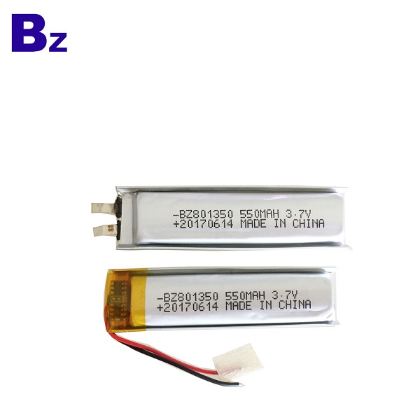 550mah Rechargeable Lipo Battery Pack