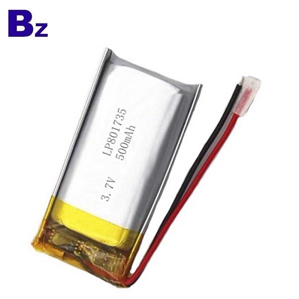 801735 500mAh 3.7V Lipo Battery