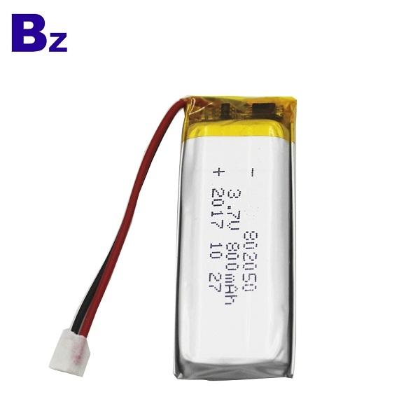 802050 800mah 3.7V Lipo Battery