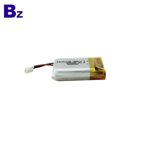 480mAh 3.7V LiPo Battery