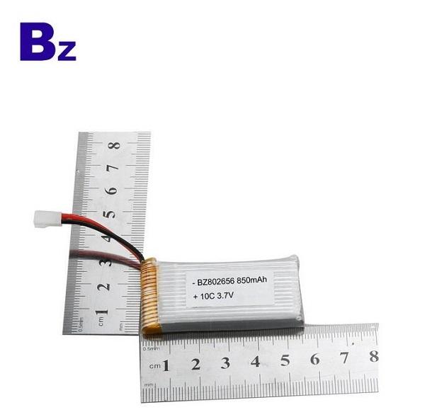 850mah 10C 3.7V RC lipo battery