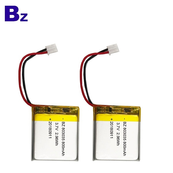 800mAh KC Certification Lipo Battery