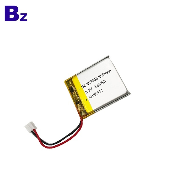3.7V 800mAh KC Certification Lipo Battery