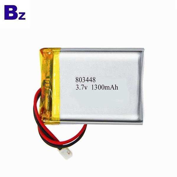 803448 1300mAh 3.7V  LiPo Battery