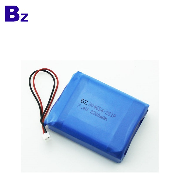 2200mah Polymer Li-Ion Battery
