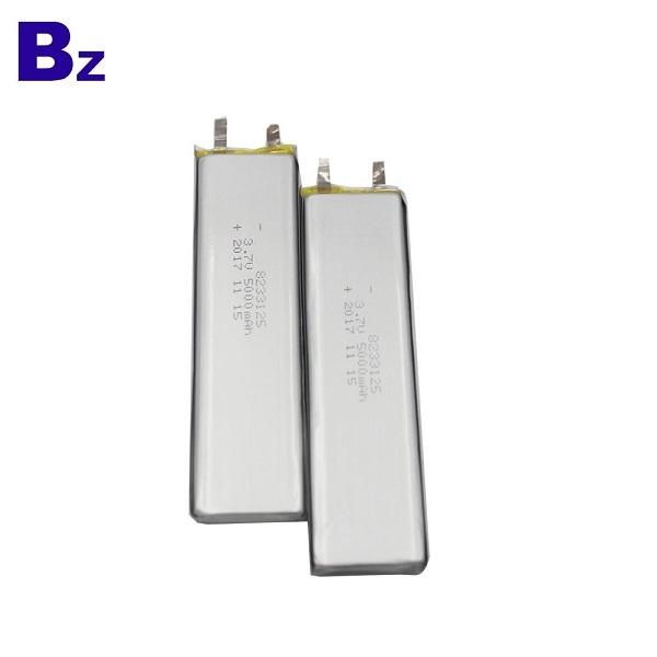 5000mah 3.7v li-polymer battery cell