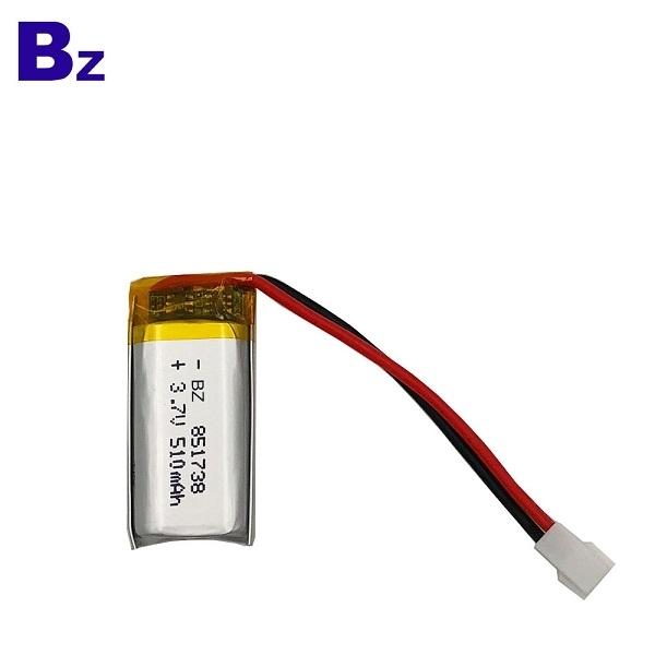 ODM 510mAh 3.7V Lipo Battery
