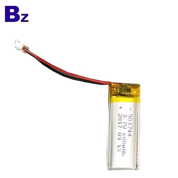 901744 680mAh 3.7V Lipo Battery