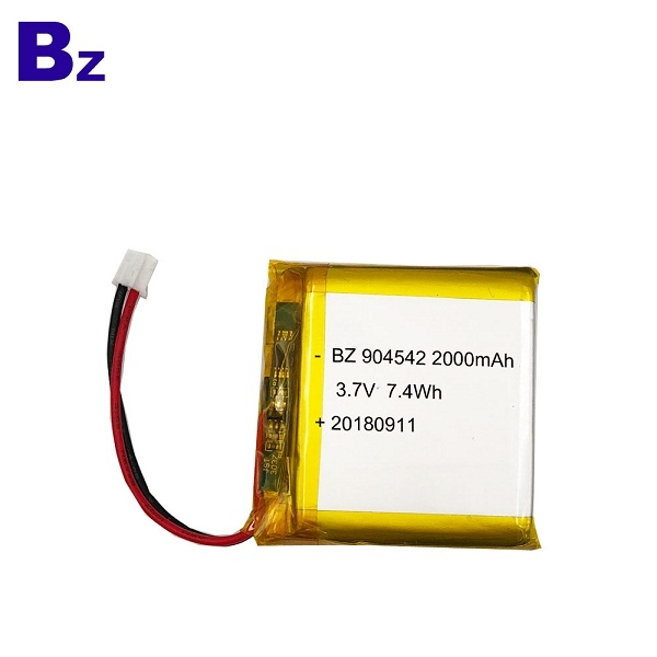 2000mAh 3.7V Lipo Battery