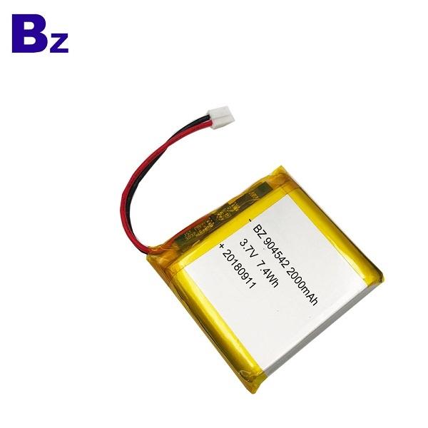 2000mAh Lipo Battery For Water Replenishing Instrument
