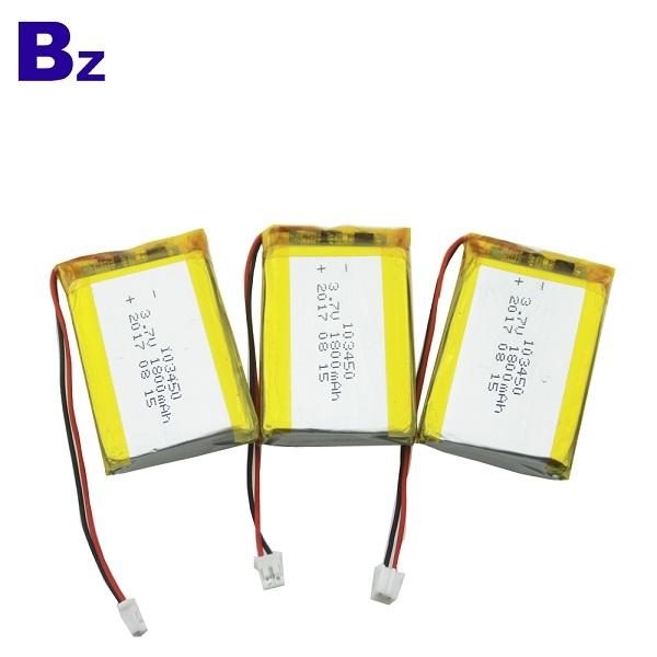 103450 18000mah 3.7V Lipo Battery