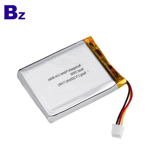124040 2000mAh 3.7V Li-Polymer Battery