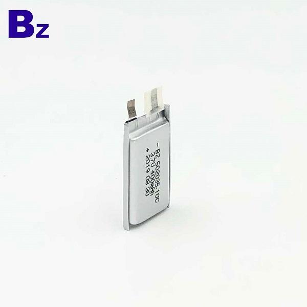 502035-10C 400mAh 3.7V Lipo Battery