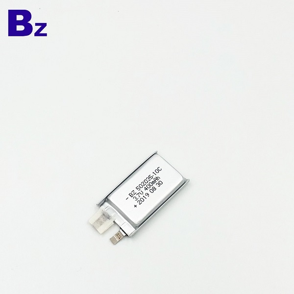 400mAh Best Quality Li-Polymer Battery