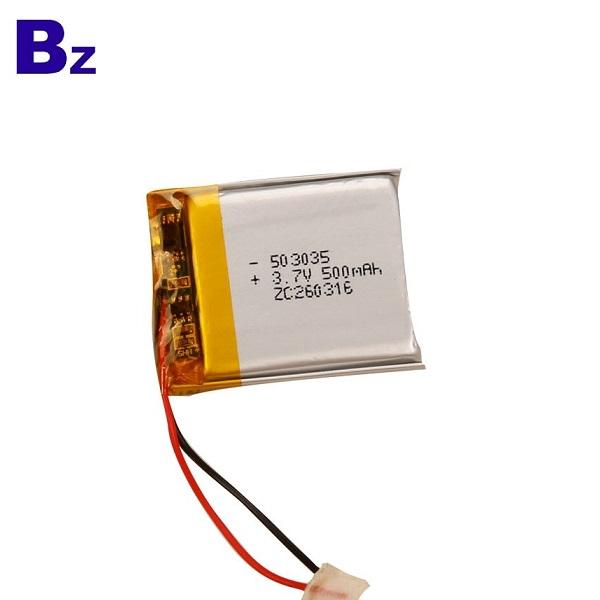 503035 500mAh 3.7V KC Certification Lipo Battery