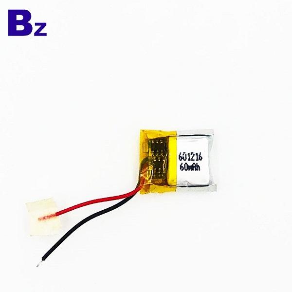60mAh 3.7V Customized Battery