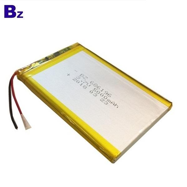 5000mah 3.7V Li-polymer Battery