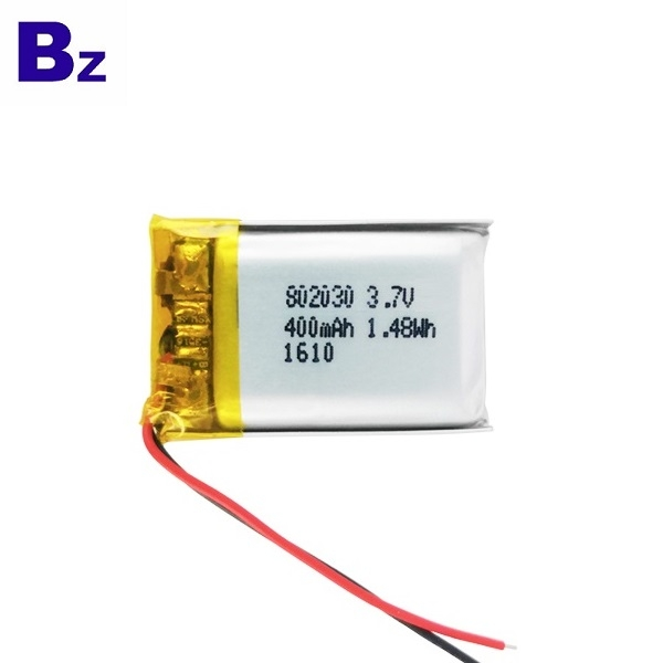 KC Certification 400mAh Lithium Polymer Battery