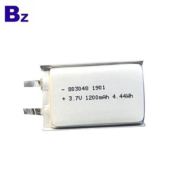 803048 1200mAh 3.7V Li-Polymer Battery
