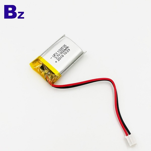 Customize 800mAh 3.7V Li-Po Battery