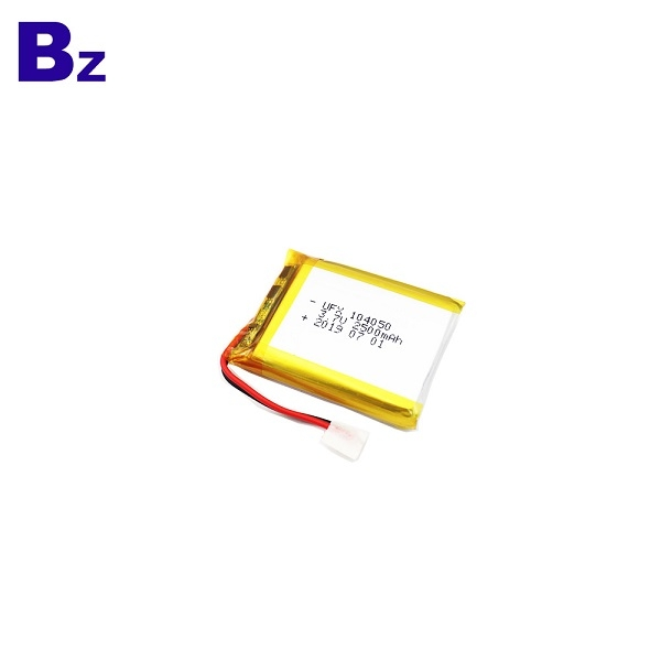 2500mAh Li Polymer Battery With KC Certification
