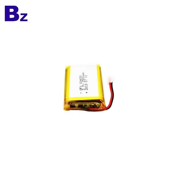 104050 2500mAh 3.7V Li Polymer Battery