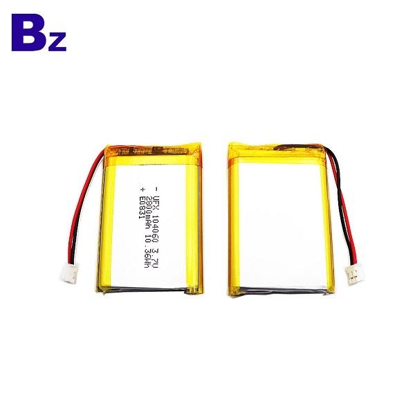 Customized UFX 104060 3.7V Li-Polymer Battery