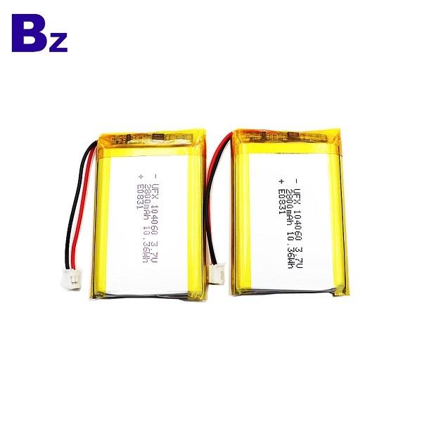 UFX 104060 3.7V Li-Polymer Battery