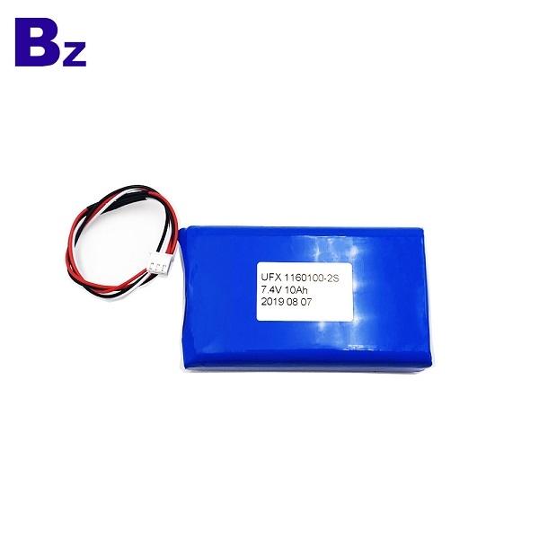 10000mAh Li-Polymer Battery With Wire and Plug