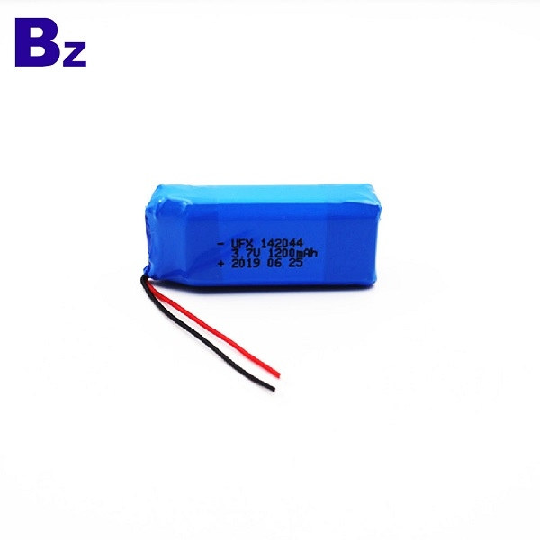 142044 1200mAh 3.7V Li Polymer Battery