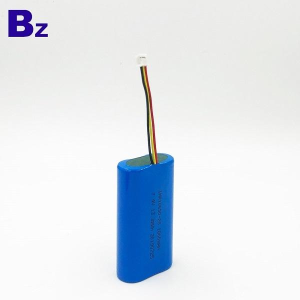 1800mAh 7.4V Li-Ion Cylindrical Battery Cell