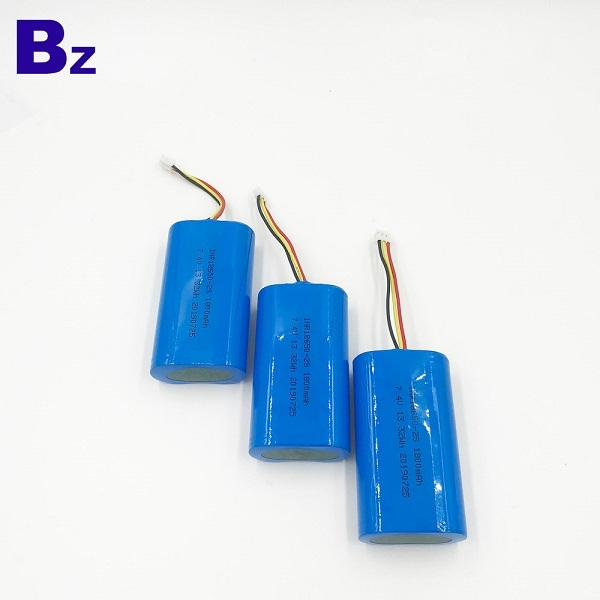 7.4V Li-Ion Cylindrical Battery Cell