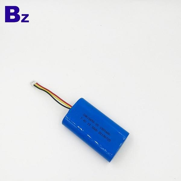 18650-2S 1800mAh 7.4V Li-Ion