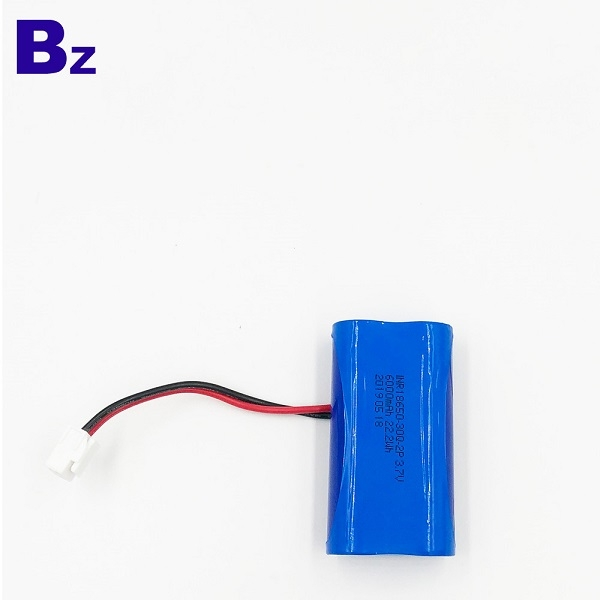 18650-30Q-2P 3.7V Li-Polymer Battery