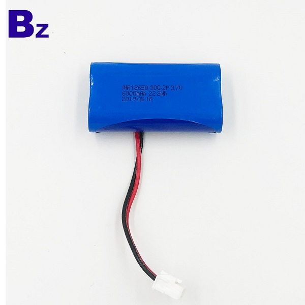 3.7V Li-Polymer Battery With Wire and Plug