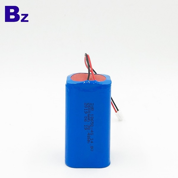 18650-4S 2600mAh 14.8V Lithium-ion Battery Pack