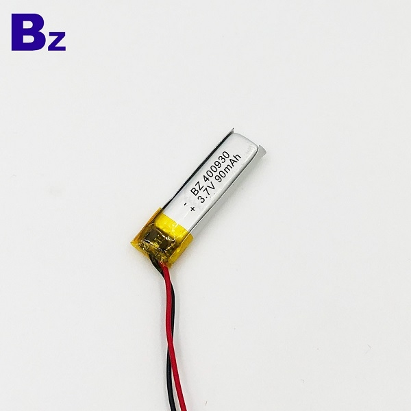 400930 90mAh 3.7V Li-Polymer Battery