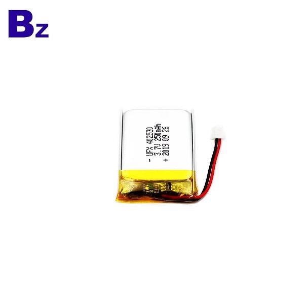402530 3.7V 250mAh Lithium Polymer Battery