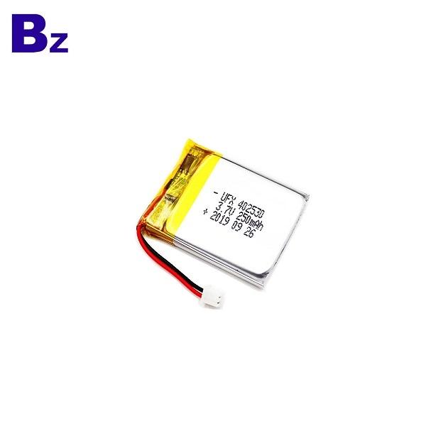 250mAh Battery For Smart Lock